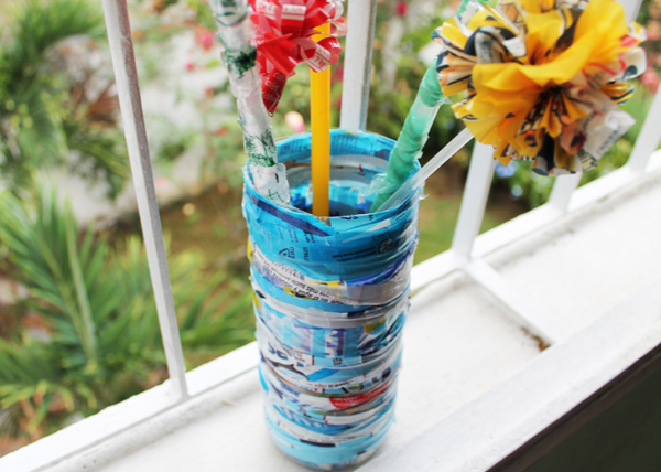 Vase_plastic_Bottle